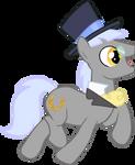 Caesar - Gentleman Pony by Versilaryan