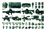 Items And Weapons pixel