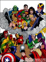 JLA-Avengers pic by Joe-Singleton