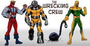 Wrecking Crew redesign