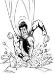 Ultraman lineart