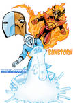 Ice-Lord and Sunstorm