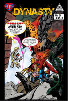 Dynasty no 31 mock cover by Joe-Singleton
