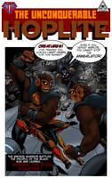 Hoplite No55 mock cover by Joe-Singleton