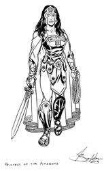 Princess of the Amazons by Joe-Singleton