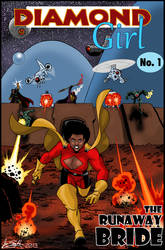Diamond Girl Origin issue by Joe-Singleton