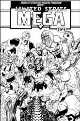 Mega mock cover BnW by Joe-Singleton