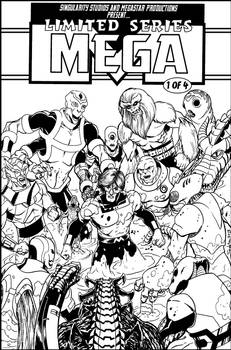 Mega mock cover BnW