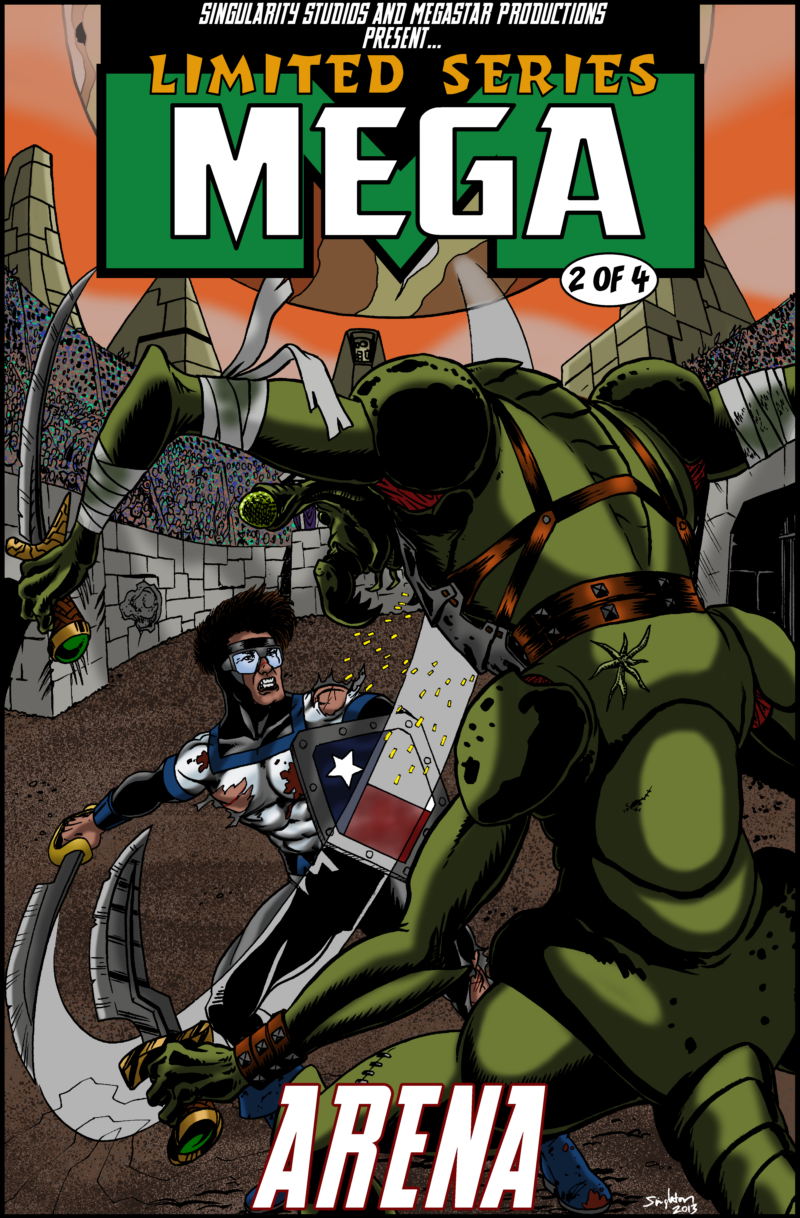 Mega Limited Series mock cover no.2 by Joe-Singleton