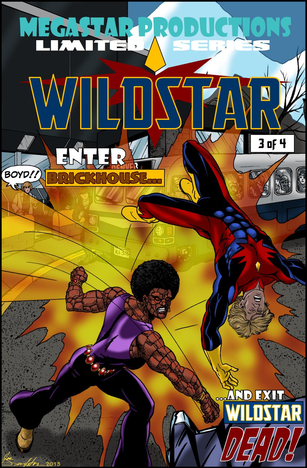 Wildstar Limited Series No 3 by Joe-Singleton