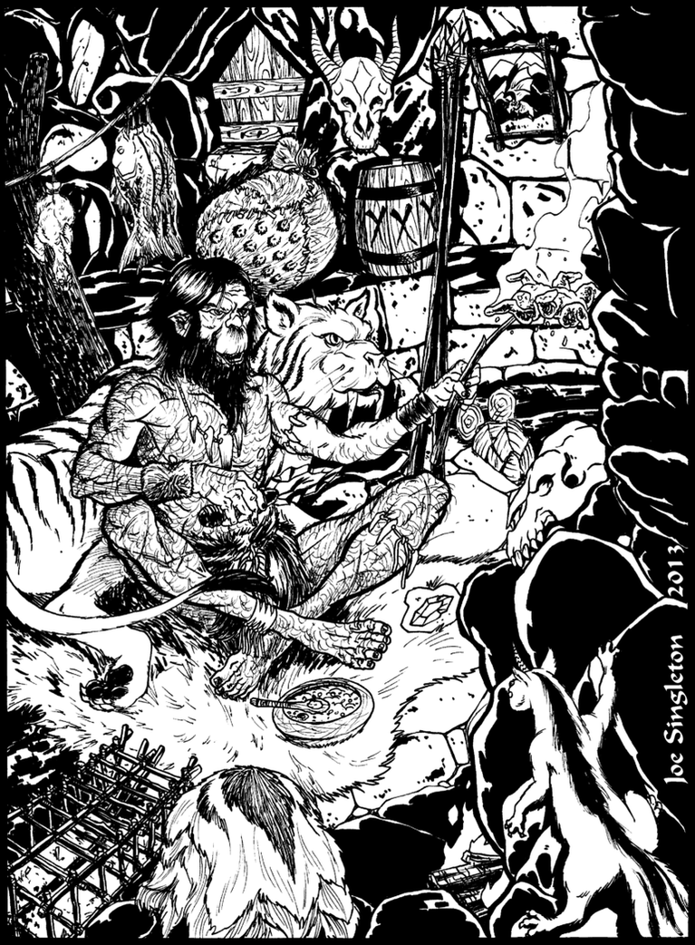 Golverg's home by Joe-Singleton