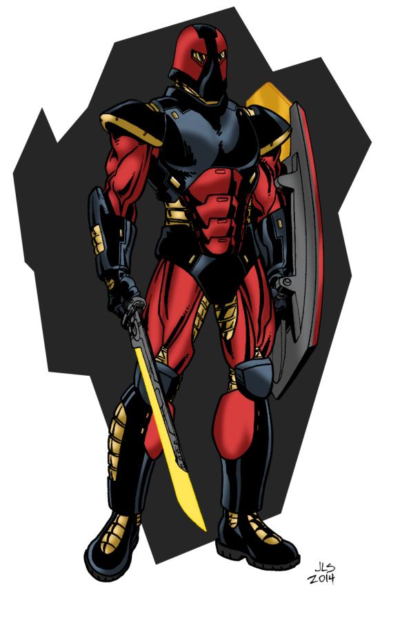 Armored by Joe-Singleton