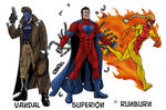 SUPERS! game characters
