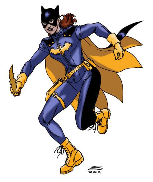 Batgirl by Joe-Singleton