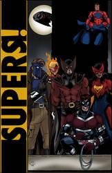 Supers! illo by Joe-Singleton