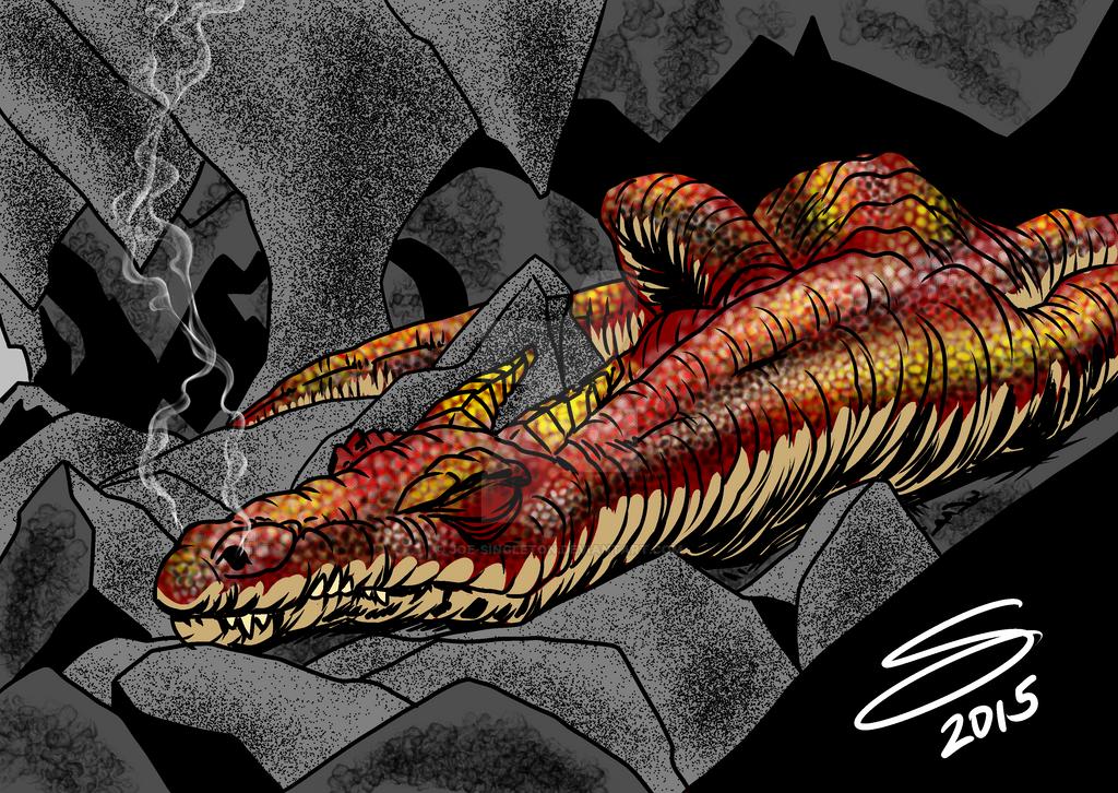 Sleeping Dragon by Joe-Singleton