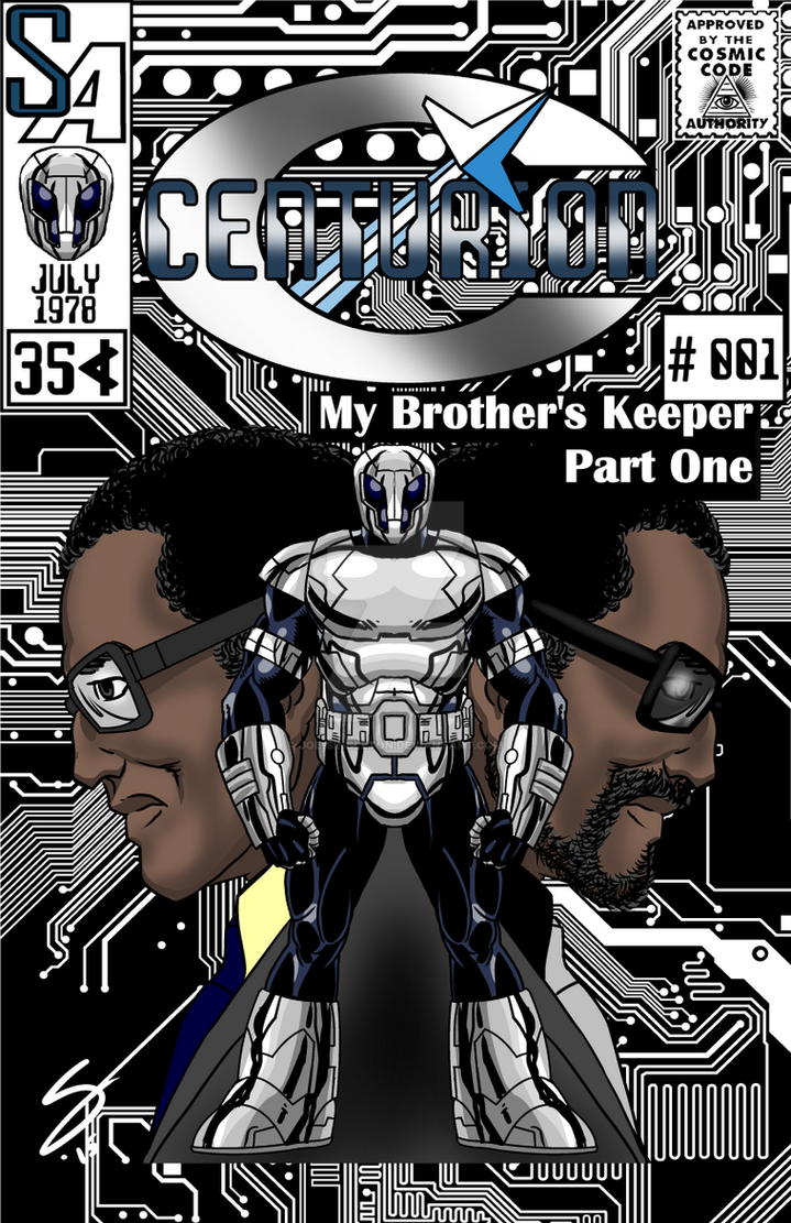Centurion 001- Mock Cover by Joe-Singleton
