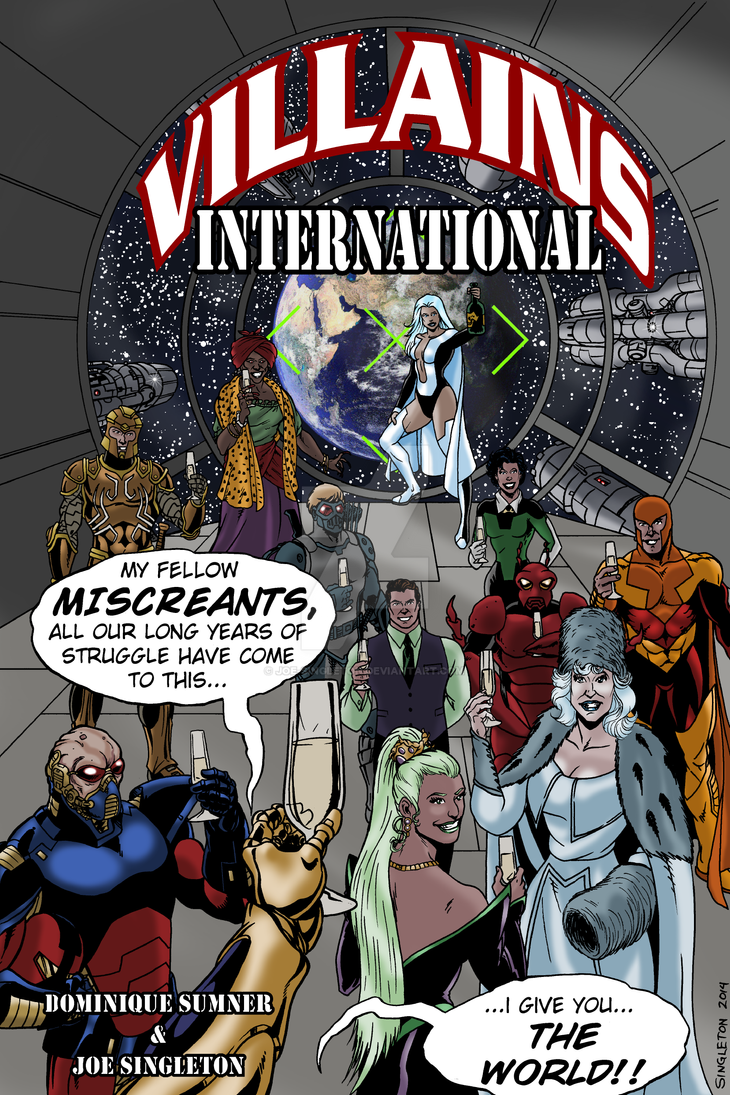 Villains, International by Joe-Singleton