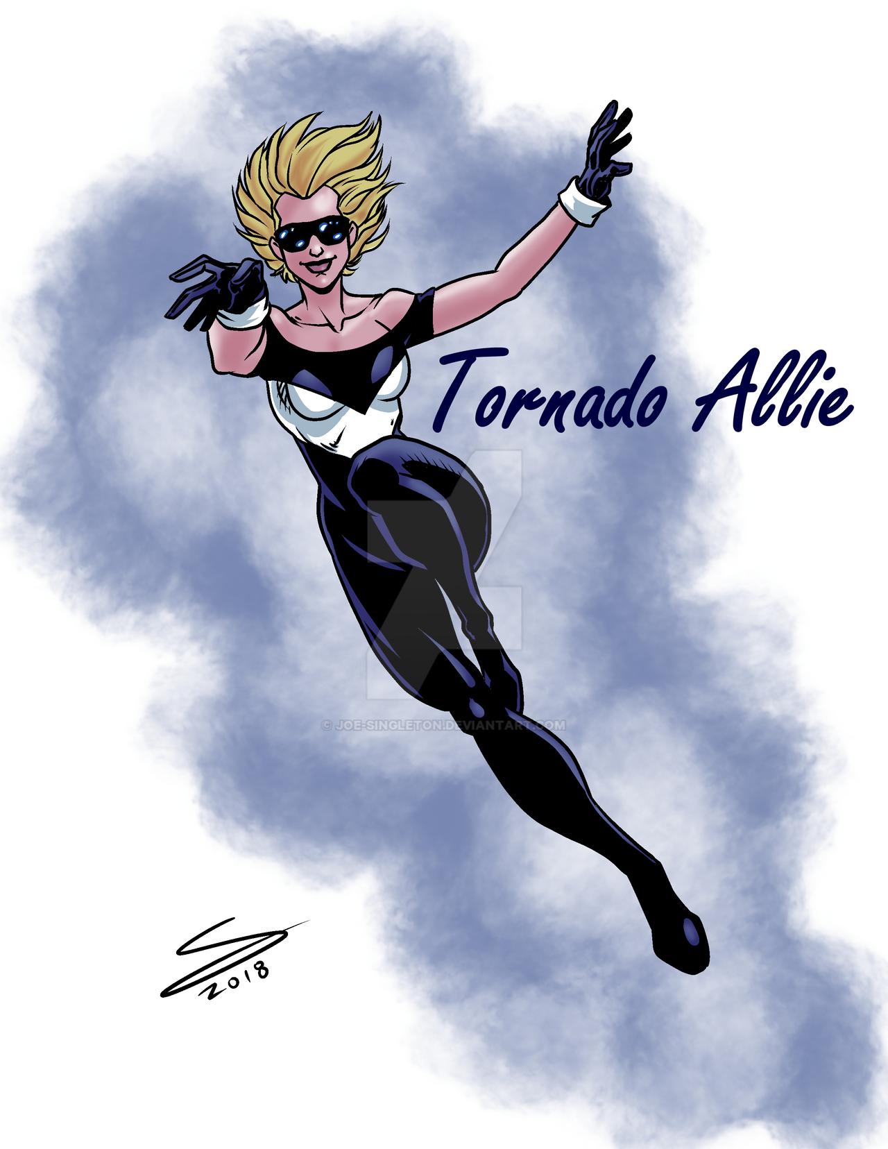 Tornado Allie by Joe-Singleton