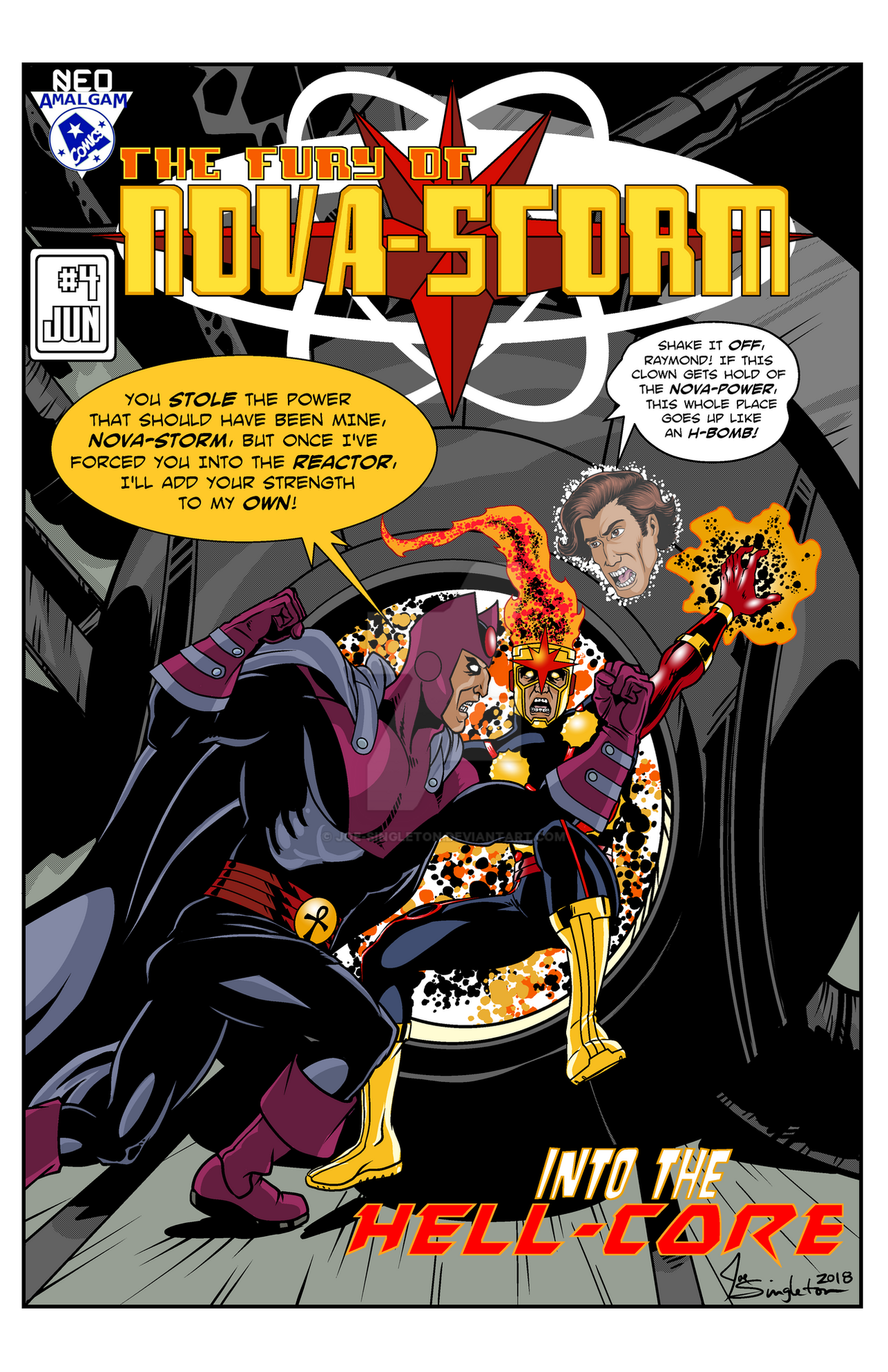 Novastorm Mock Cover by Joe-Singleton