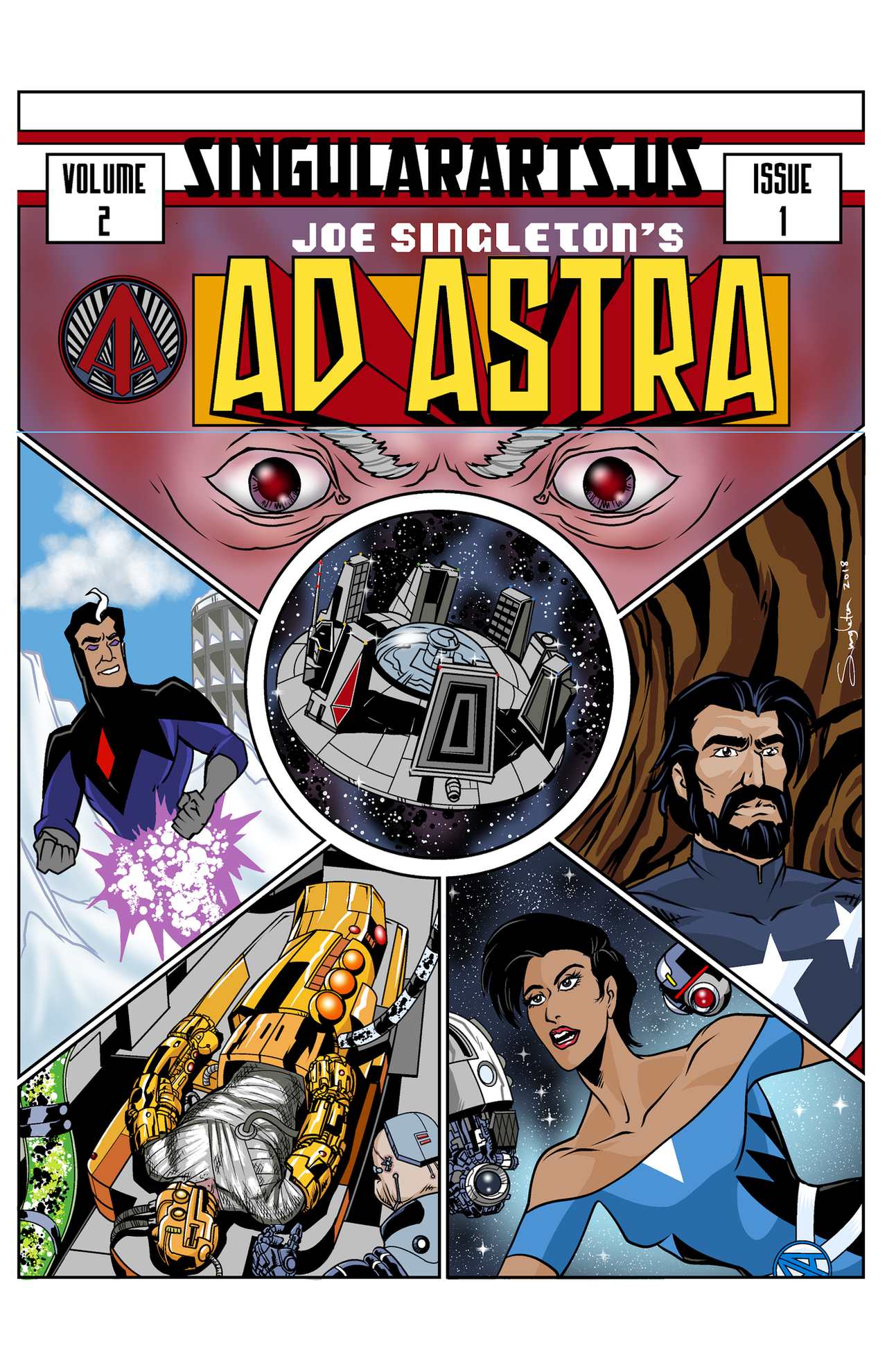 Ad Astra volume 2, no. 1 by Joe-Singleton
