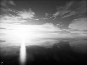 0006 'Sunset Dreamer' - BW