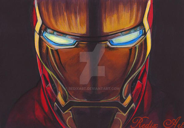 Iron Man by RedixArt