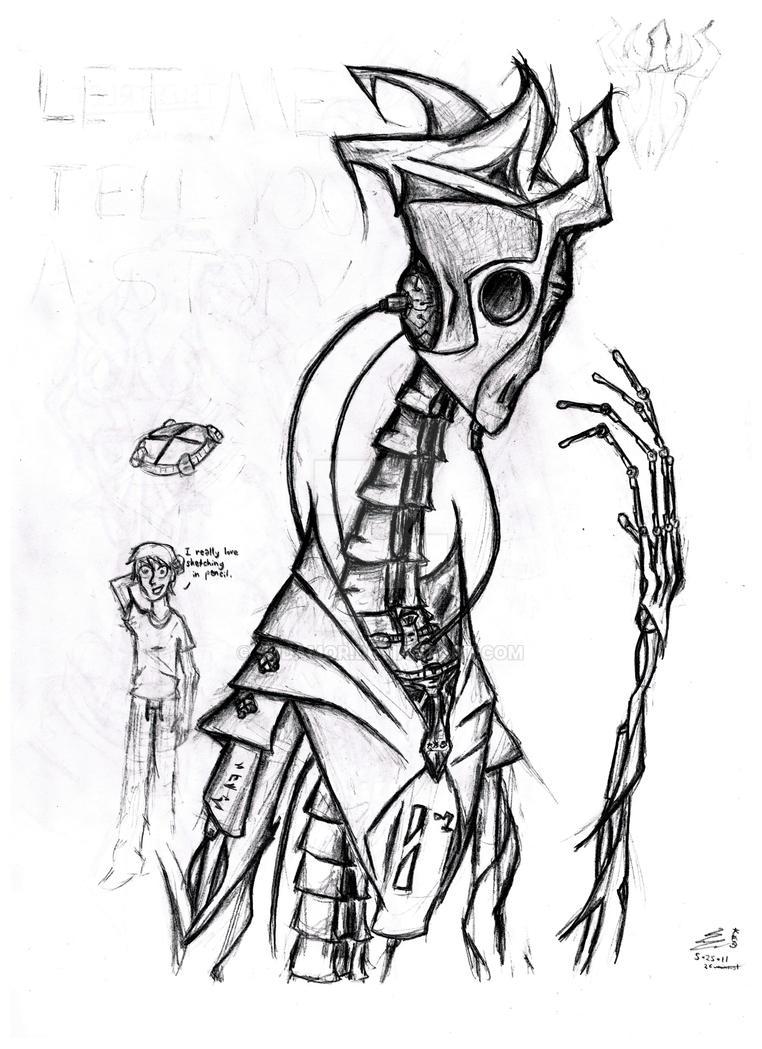 Telestruct Robot by Sudamor