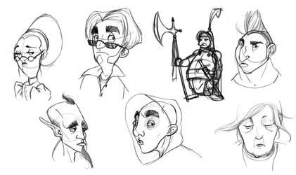 Train sketches 09 by StijnVanDoorselaere