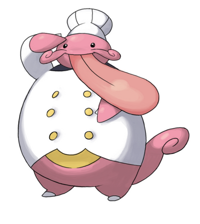 Image Gallery lickitung evolution