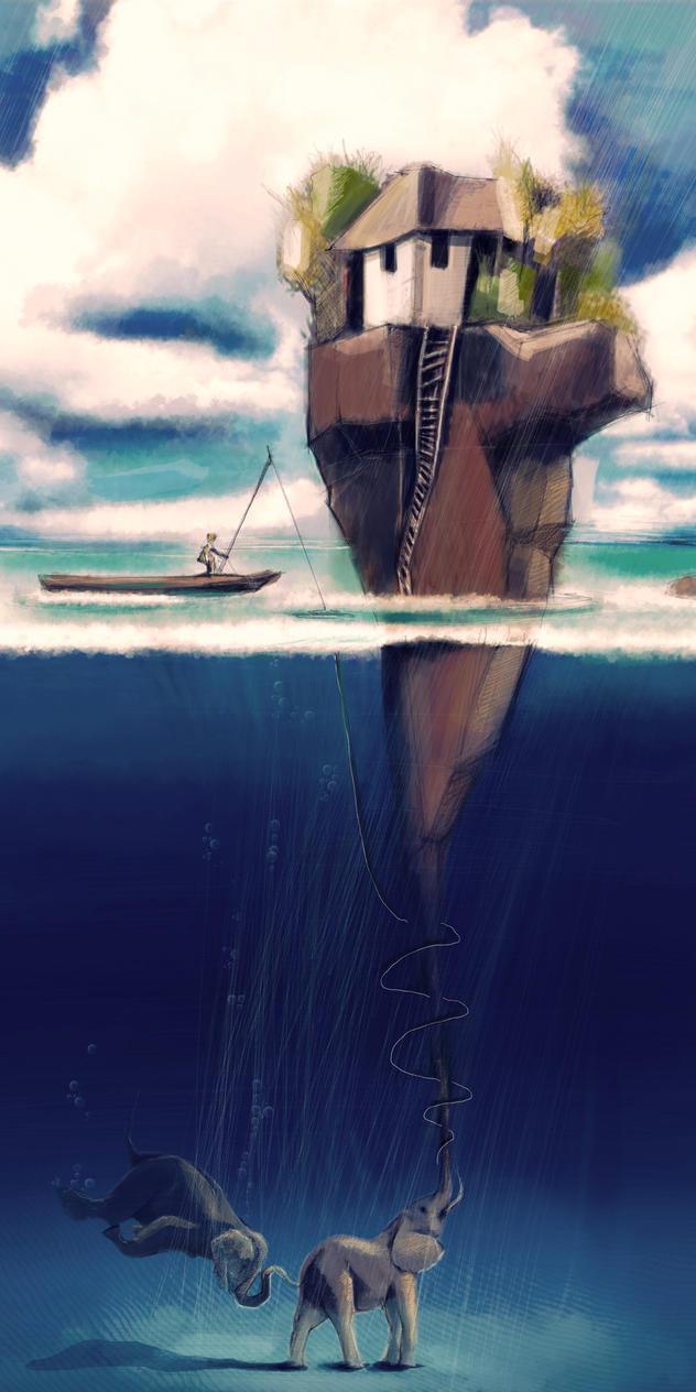 The island birth by zIoana