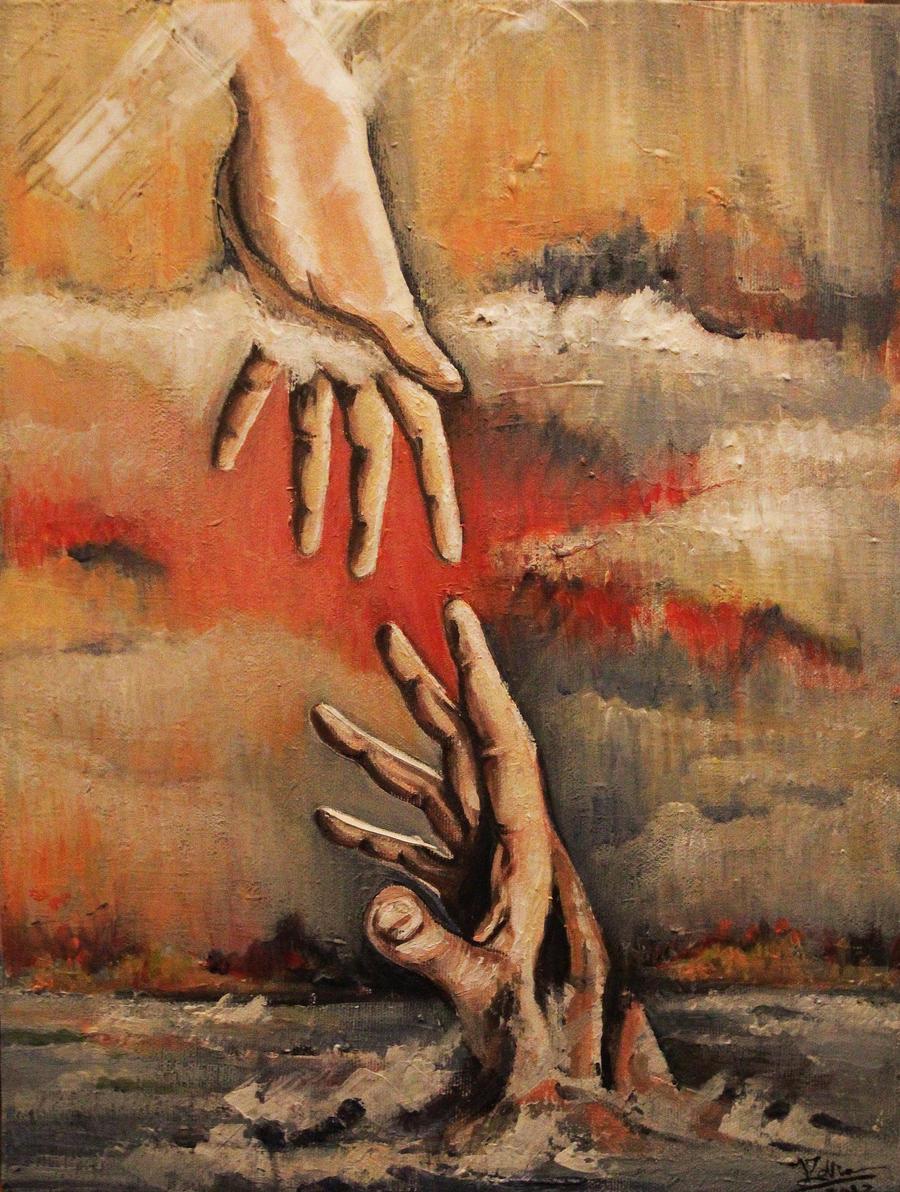 Hands of sunset