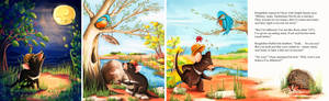 Oscar - children book illustrations