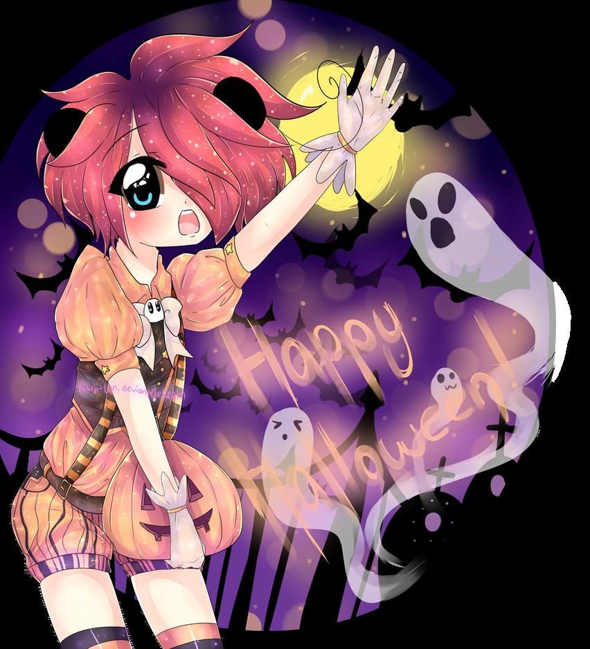 Happy Halloween! by Kiwii-tan