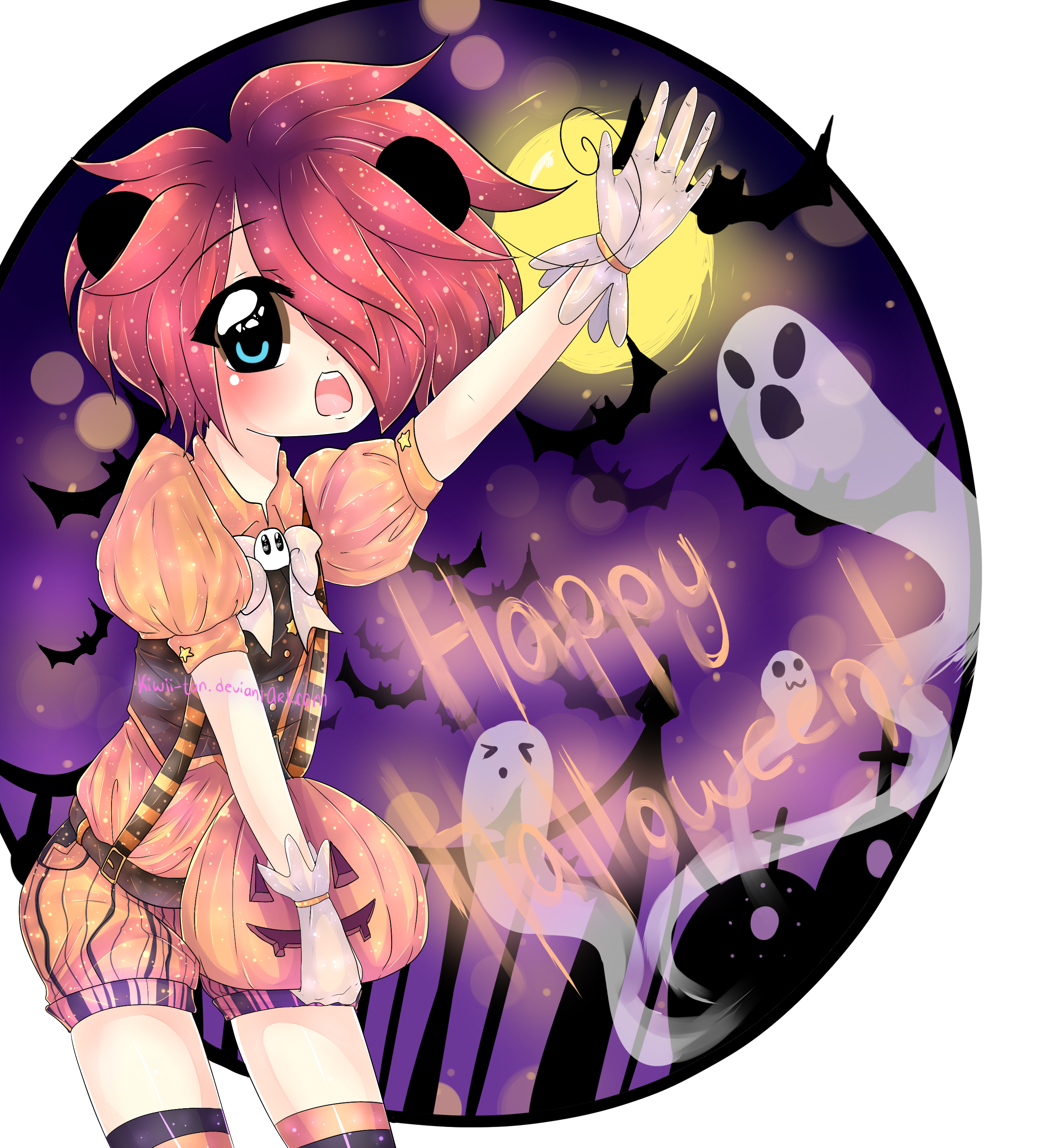 Happy Halloween! by Kiwii-tan