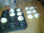 RootBeer Float Cupcakes!!!