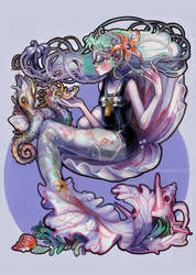 Hyacinth by valeriebastille