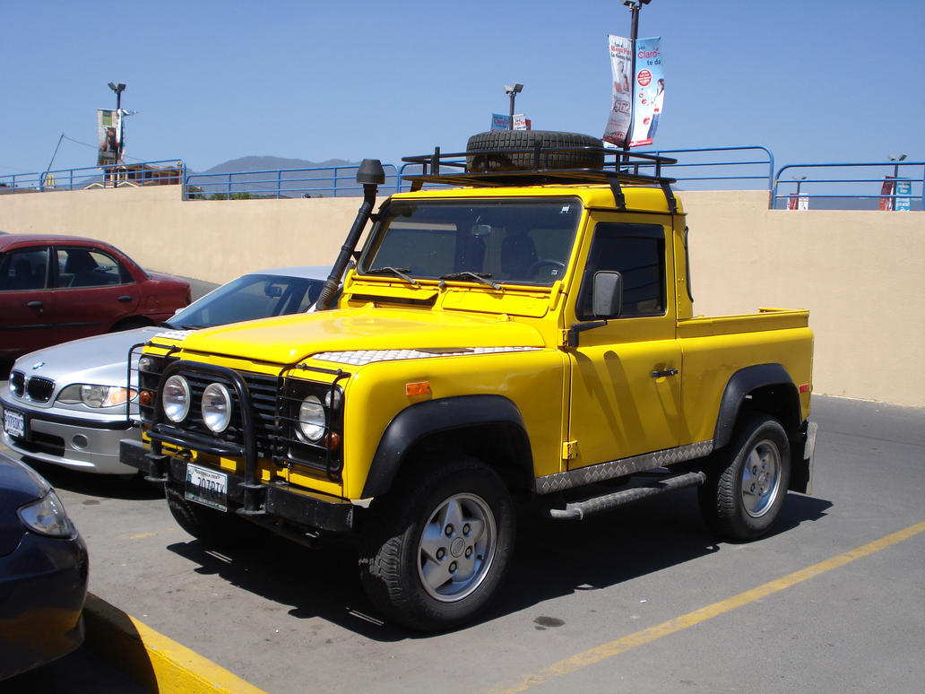Land Rover Defender Truck by MexicanGuy on DeviantArt