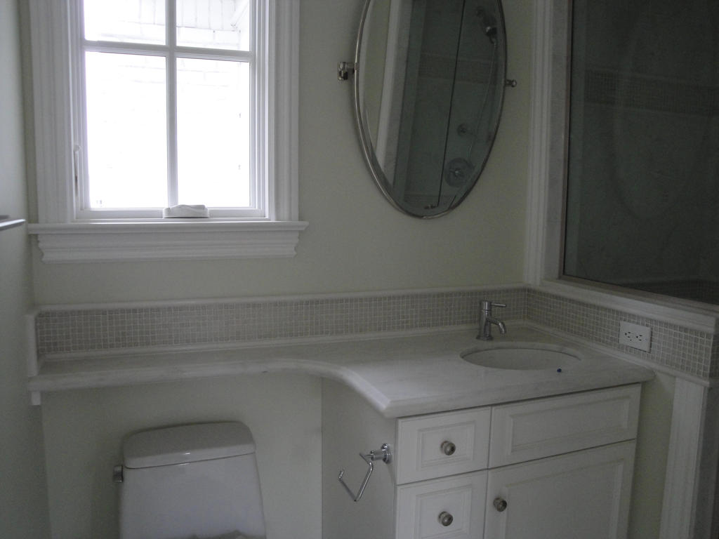 Marble Bathroom B Countertop