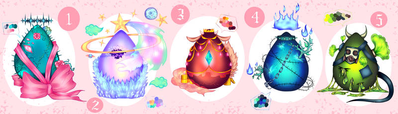 Surprise Eggs adoptables OPEN