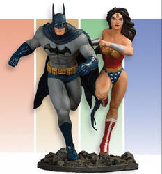 Benes JLA1 Batman-WonderWoman by alterton