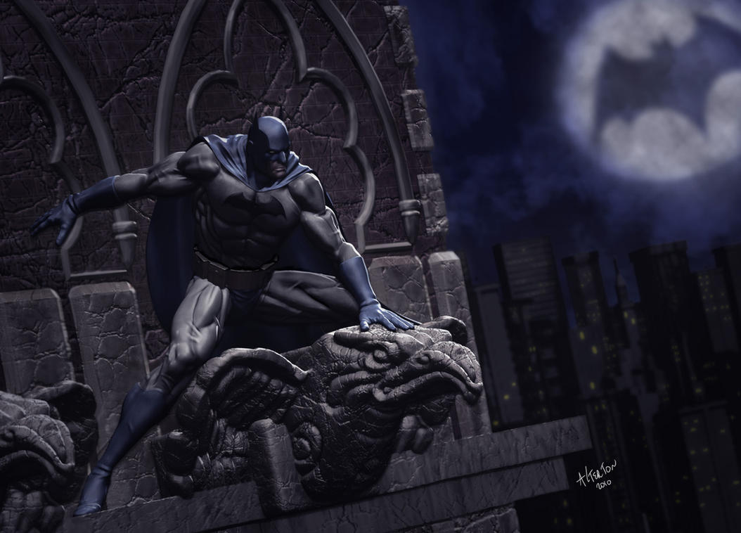 Batman illustration by alterton