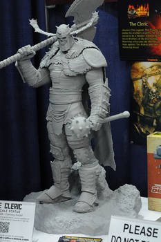 The Cleric prototype at SDCC full