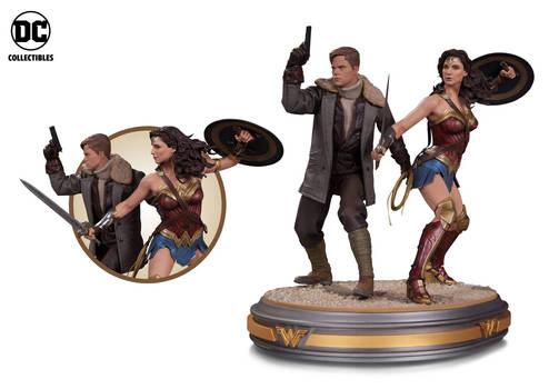 Wonder Woman Movie Steve Trevor and Wonder Woman