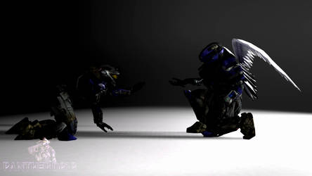 [SFM/Halo] Christmas Gift to Legion 2019 by Panther-D212