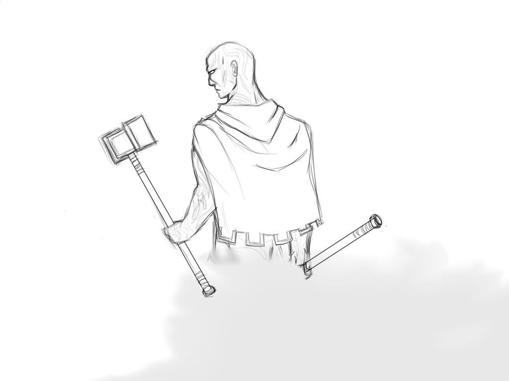 Aki Swifthammer by ManlyMagician
