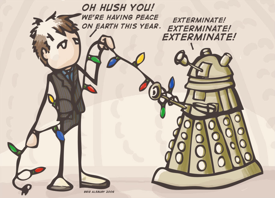 A Very Dalek Christmas by queen-of-the-dorks on DeviantArt