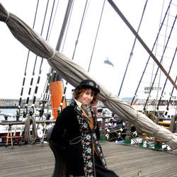 Lady Almira on the Ship