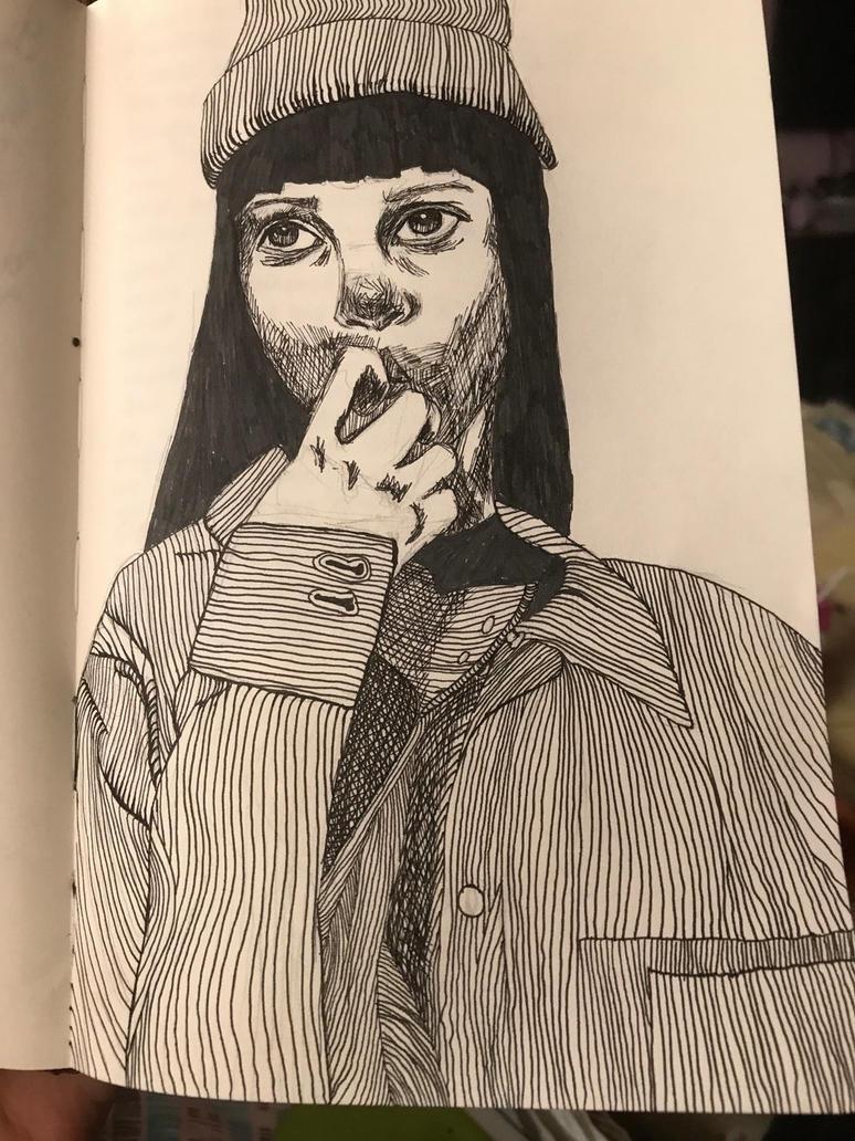 Thinking  by ArtFiqah