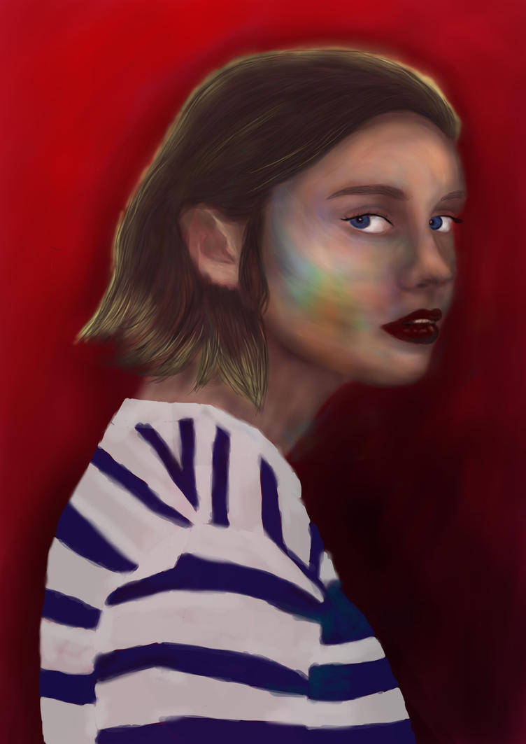 Fashion illustration by ArtFiqah